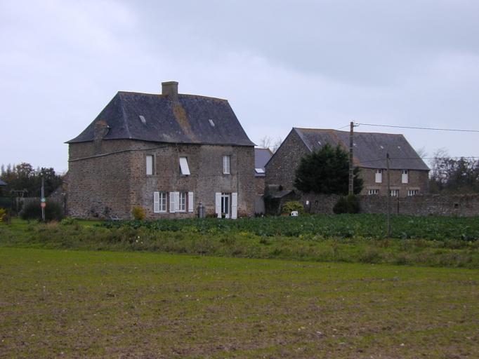 Ferme, la Ville es Gourdeaux (Saint-Coulomb)