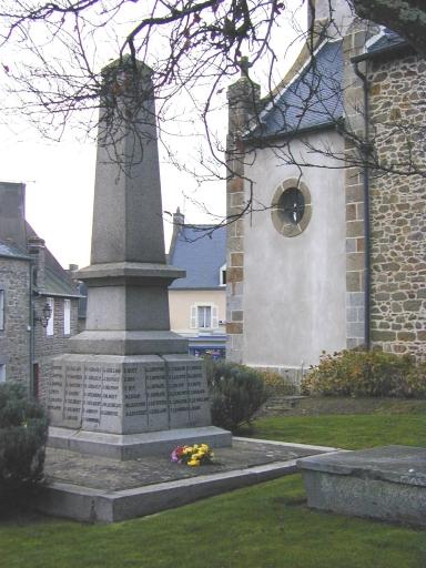 Monument aux morts, Grande Rue de la Poste (Saint-Coulomb)