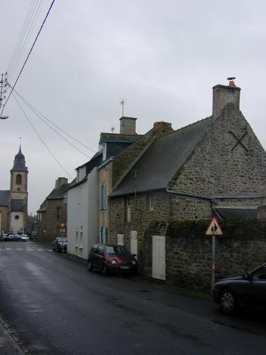 Maison, rue de Bel Air (Saint-Coulomb) ; Maison, 2 rue de la Mairie (Saint-Coulomb)