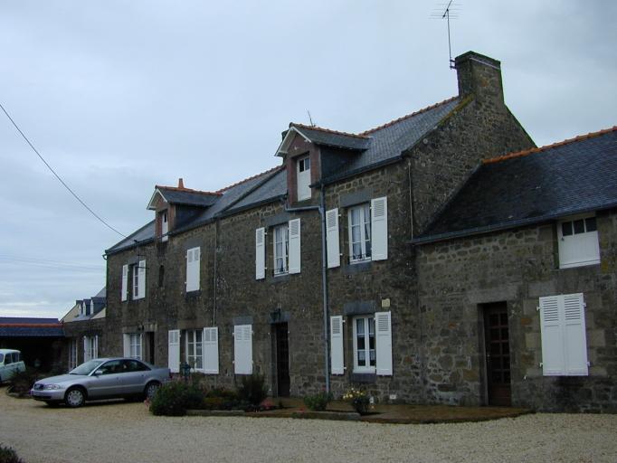 Ferme, 1 rue du Bois Gentil (Saint-Coulomb)
