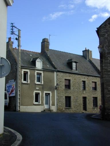 Maison dite Bel Avis, 10 place de l'Eglise (Saint-Coulomb)