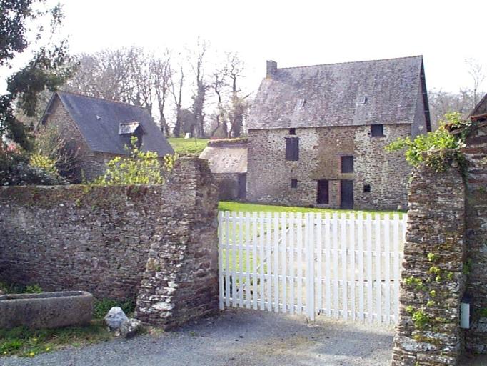 Ferme, la Grande Couaillerie (Saint-Méloir-des-Ondes)
