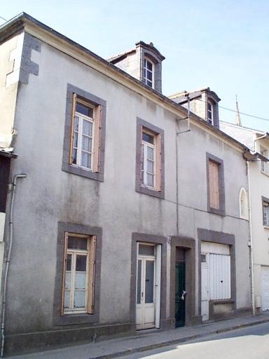 Maison, 6 rue de la Gare (Saint-Méloir-des-Ondes)