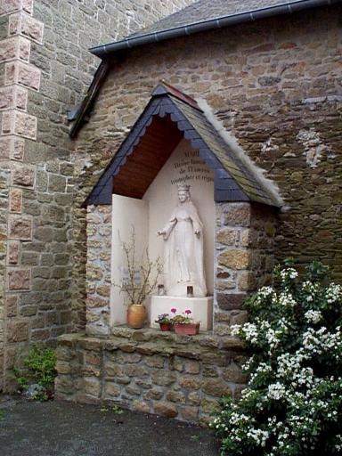 Oratoire, rue de la Gare (Saint-Méloir-des-Ondes)