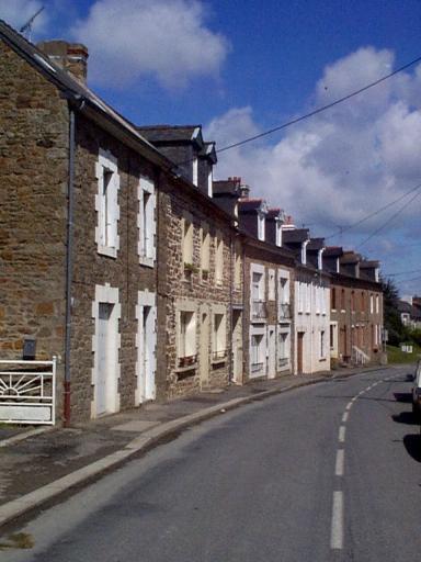 Alignement de maisons, 19-27 rue Radegonde (Saint-Méloir-des-Ondes)