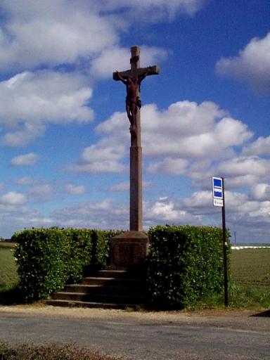 Croix de chemin, la Loge (Saint-Méloir-des-Ondes)