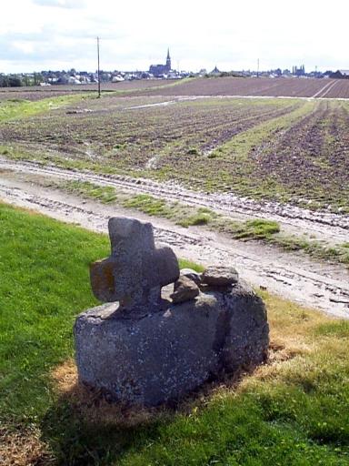 Croix de chemin, les Portes (Saint-Méloir-des-Ondes)