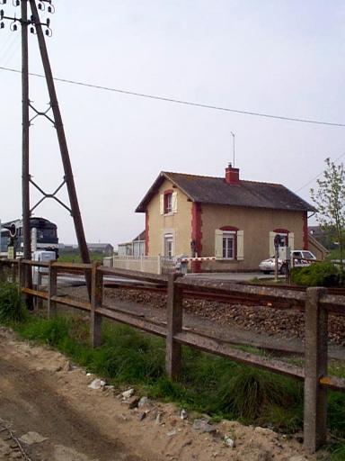 Maison de garde barrière, la Ville es Gars (Saint-Méloir-des-Ondes)