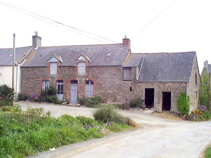 Ferme, la Grande Fontaine (Saint-Méloir-des-Ondes)