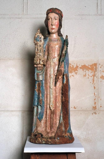 Statue de sainte Barbe