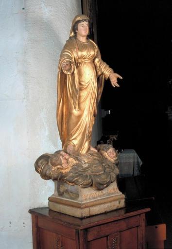 Statue de procession : Vierge dite Etoile de mer