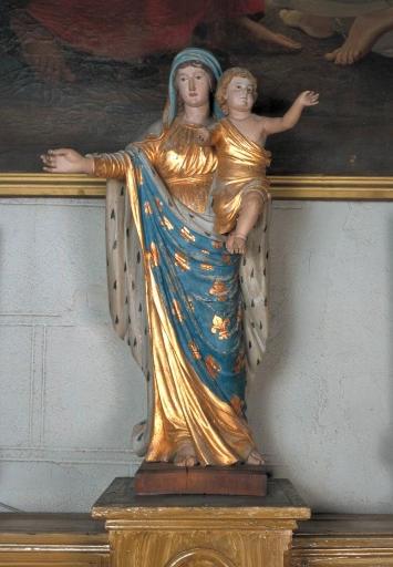 Statue de la Vierge à l'Enfant 2