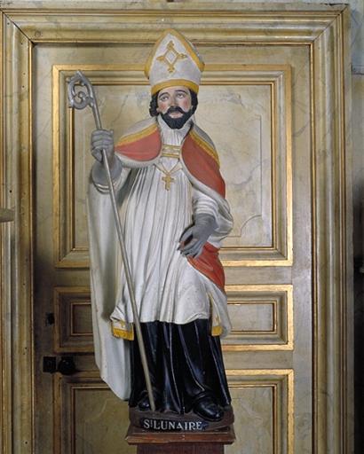 Statue: saint Lunaire