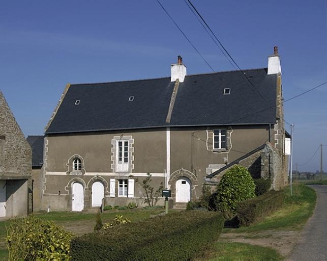 Manoir, le Haut Manoir (Saint-Coulomb)