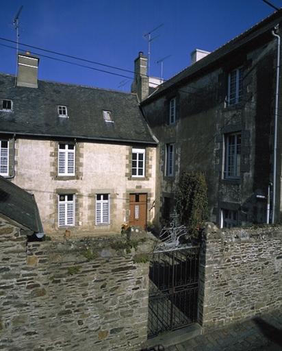 Presbytère, 15 rue de la Vallée Porcon ; impasse Saint-Méen (Cancale)
