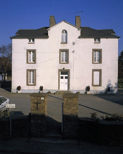 Presbytère, 9 rue de la Gare (Saint-Méloir-des-Ondes)