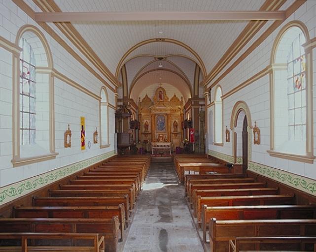 Le mobilier de l'église paroissiale Notre-Dame