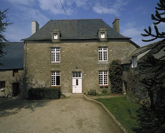 """Demeure, dite """"malouinière"""" le Tertre Janson (Saint-Méloir-des-Ondes)"""