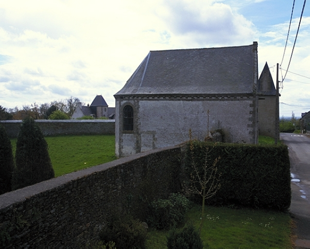 Présentation de la commune de Saint-Méloir-des-Ondes ; Chapelle Saint-Pierre, la Coudre (Saint-Méloir-des-Ondes) ; Manoir, la Coudre (Saint-Méloir-des-Ondes)