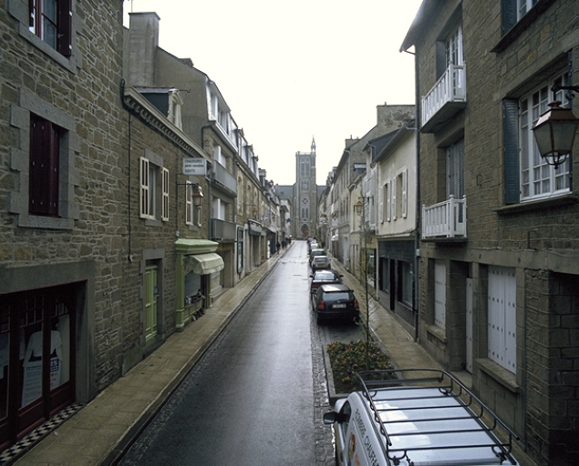 Rue, rue Général Leclerc (Cancale)