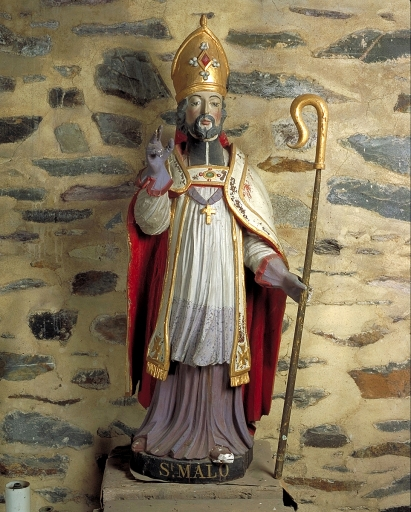 Statue: saint Malo