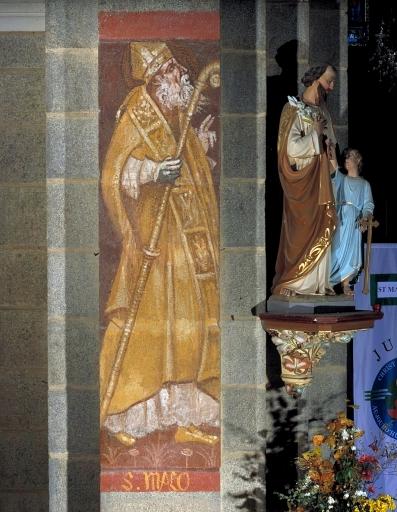 Peintures monumentales: saint Malo, Marc Mathurin Leroux