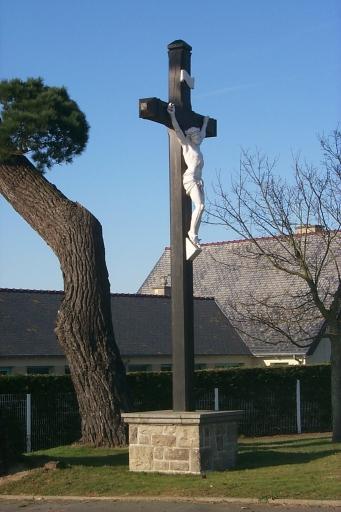 Croix monumentale dite croix de mission, rue du Stade ; rue Pierre de Coubertin, Bel-Air (Cancale)