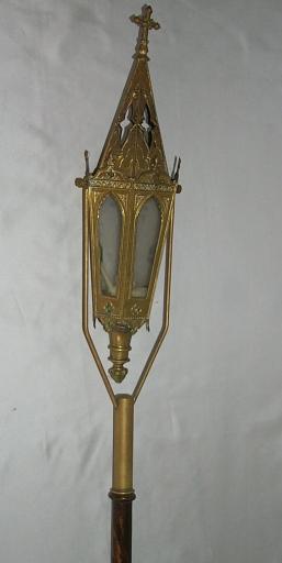 Paire de lanternes de procession