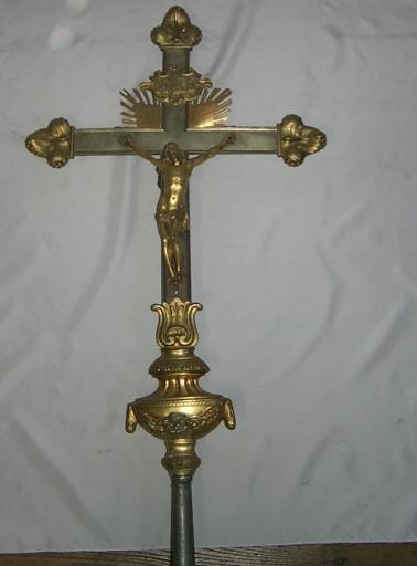 Croix de procession, hampe de procession