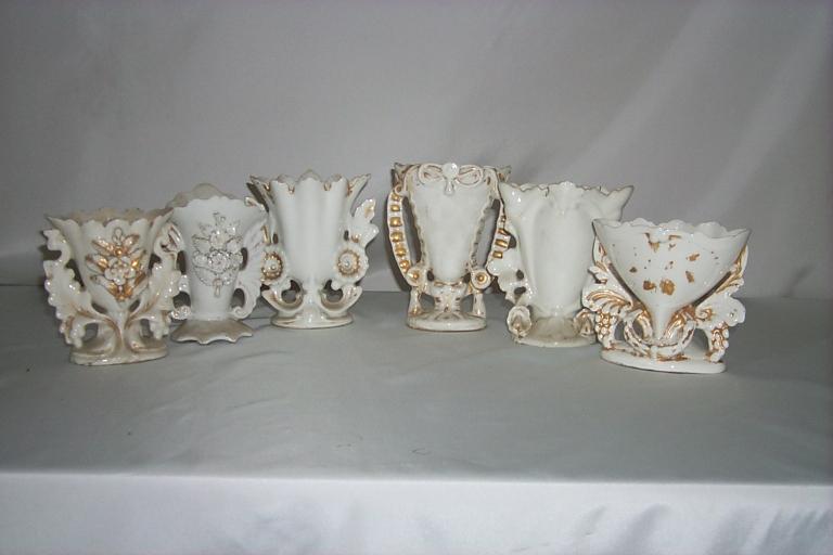Ensemble de 6 vases d'autel
