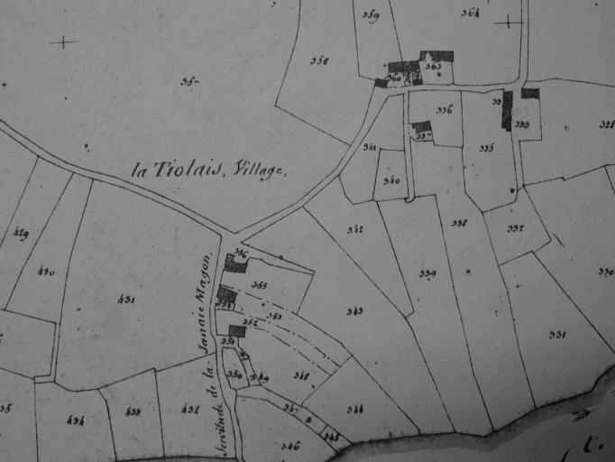 Écart de la Tiolais (Saint-Coulomb)