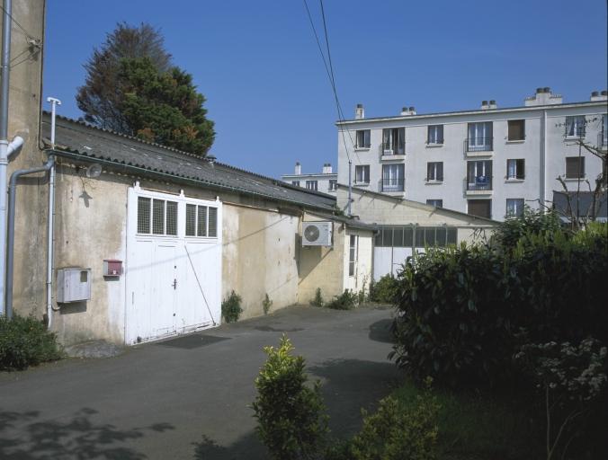 Blanchisserie industrielle Lecadet et Cie, actuellement studio d'enregistrement, 12 rue du Père Maunoir (Rennes)