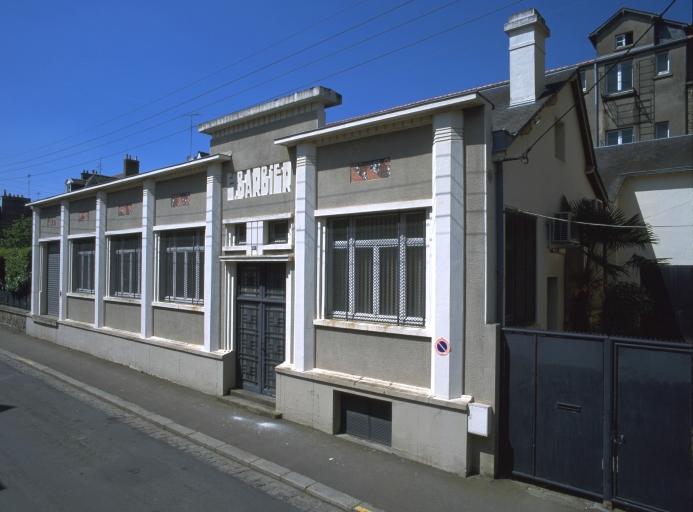Usine de chaussures Barbier et Ferré, puis Emile Barbier, 31 rue du Général Chanzy (Fougères)