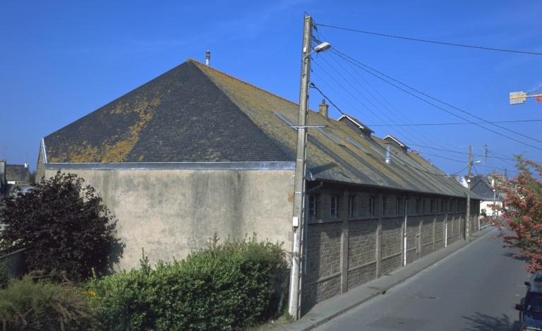 Corderie Pellet J et fils, actuellement archives, 16 rue d'Alsace (Saint-Malo)