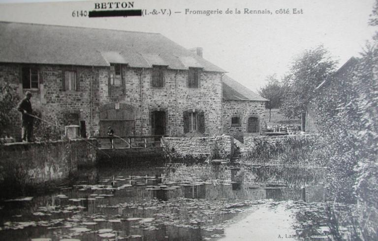 Moulin à blé, puis laiterie industrielle, puis usine de produits pour l'alimentation animale, la Reinnais (Betton)