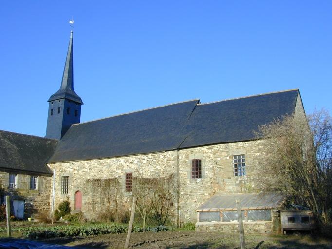 Prieuré puis église paroissiale Saint-Léger (Saint-Léger-des-Prés)