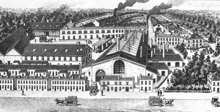 Verrerie de la Hellonière, puis verrerie de Laignelet, avenue de la Verrerie (Fougères)