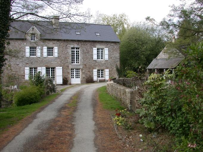 Moulin à farine d'Yvignac, actuellement maison, Moulin d'Yvignac (Trémeur)