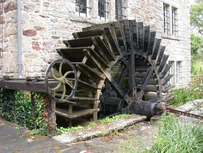 Moulin à farine de l'Hyoméril, actuellement maison, Moulin de l'Hyoméril (Caulnes)