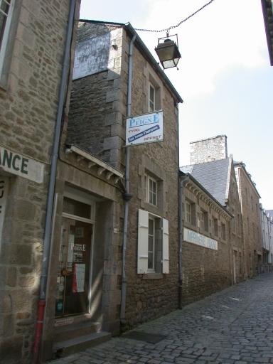 Imprimerie Peigné, 15 rue de la Croix (Dinan)