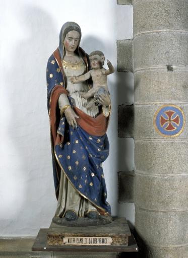 Statue de la Vierge à l'Enfant 3 dite Notre-Dame de la Délivrance