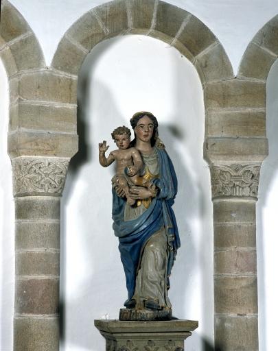 Statue de la Vierge à l'Enfant 5 dite Notre-Dame de Vérité