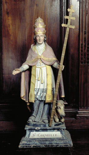 Statue de saint Corneille