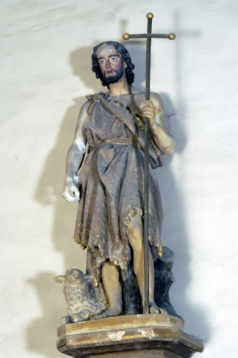 Statue sur culot: Saint Jean-Baptiste