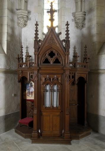 Ensemble de 3 confessionnaux