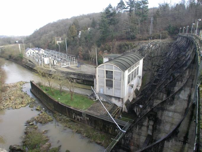 Centrale hydroélectrique du Barrage de Rophemel (Guenroc) ; Centrale hydroélectrique du Barrage de Rophemel (Guenroc)