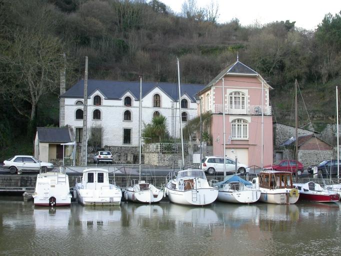 Brasserie Lenouvel, puis Dibart, usine de teinturerie Scordia, actuellement atelier de décoration Michel, IA22001375 (Dinan)