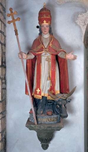 Statue de saint Cornély