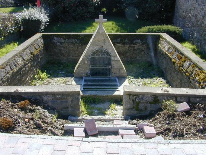 Fontaine de dévotion saint Cornély