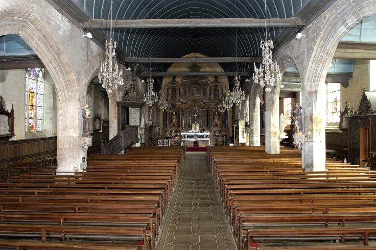Le mobilier de l'église paroissiale Saint-Melaine (Domalain)